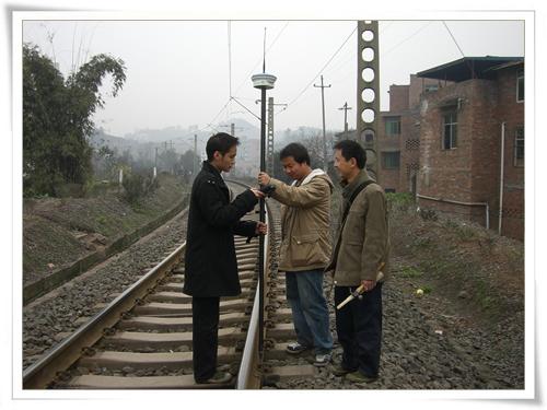 公司新购GPS测绘仪器已投入使用