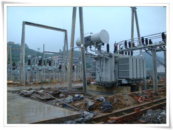 110kV廉溪变电站安装调试工程进展顺利