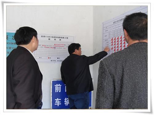 贵州杏山变至白秧牵引变110KV线路加固改造工程竣工