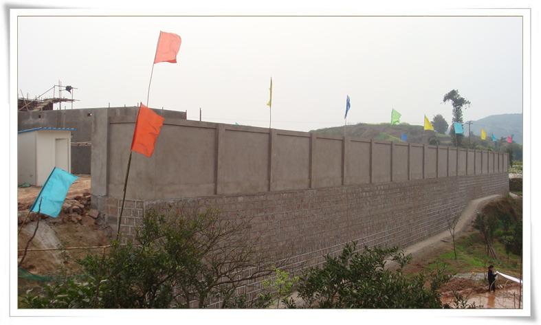 110千伏变电站土建工程进入扫尾阶段