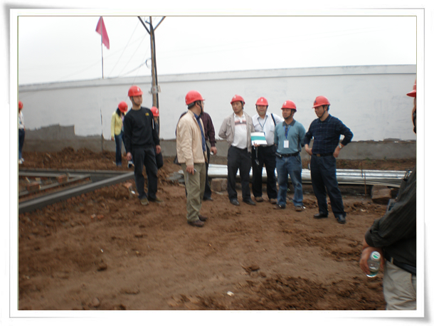 四川省电力公司专家组对我公司项目进行春季基建安全大检查