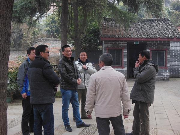 陕西送变电工程公司领导、专家莅临成眉石化园施工项目部参观交流