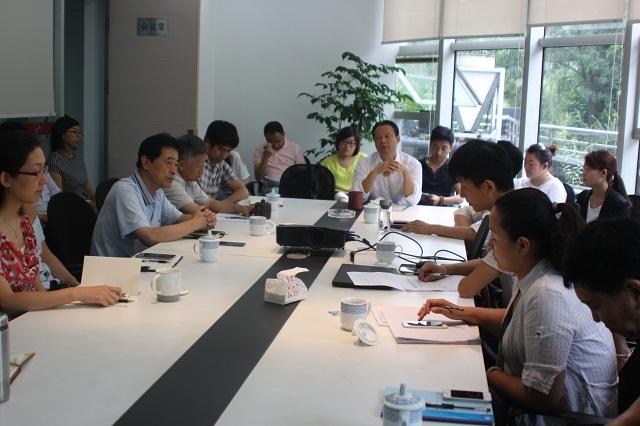 2015年6月3日公司召开干部任免大会
