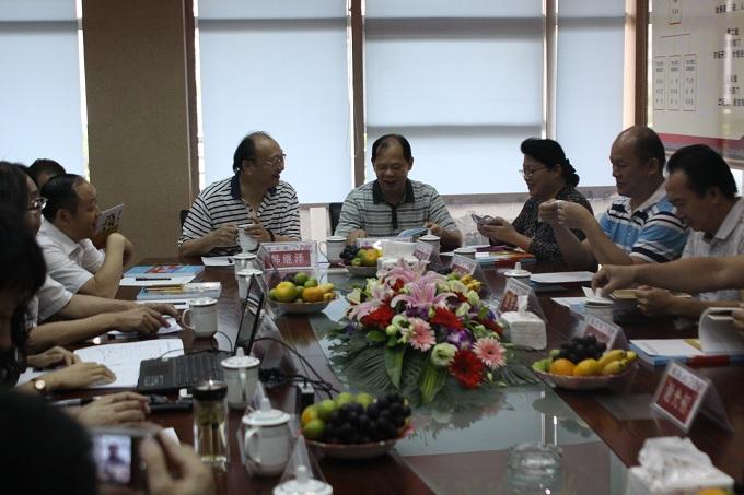 广东省电力工程企业协会来我司参观交流