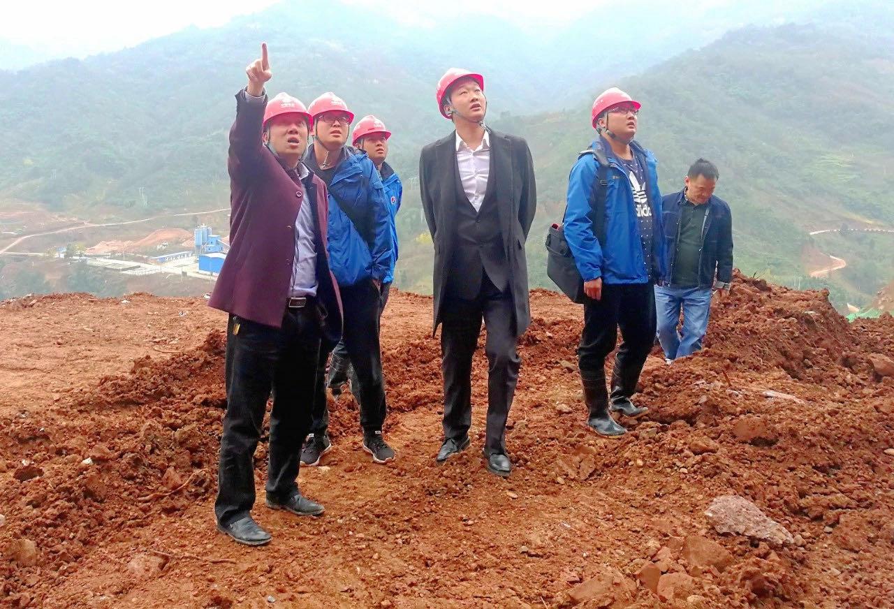 中水七局李家岩水库负责人赴项目现场视察指导工作