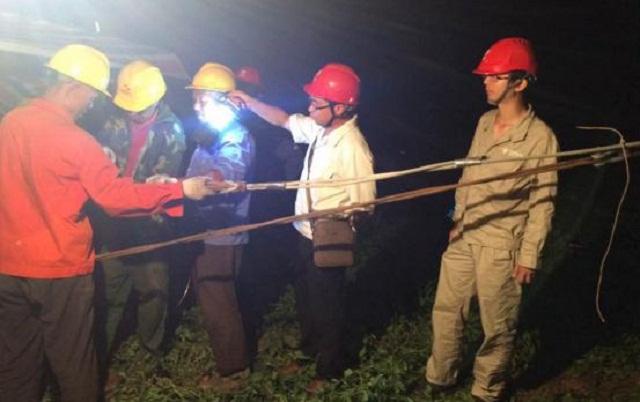 500kV南谭二线OPGW光缆改造工程恢复送电