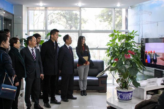 银企联谊公司党支部与青羊支行党组织开展牵手活动