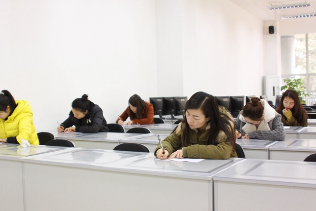 公司组织行政人事部员工技能考试