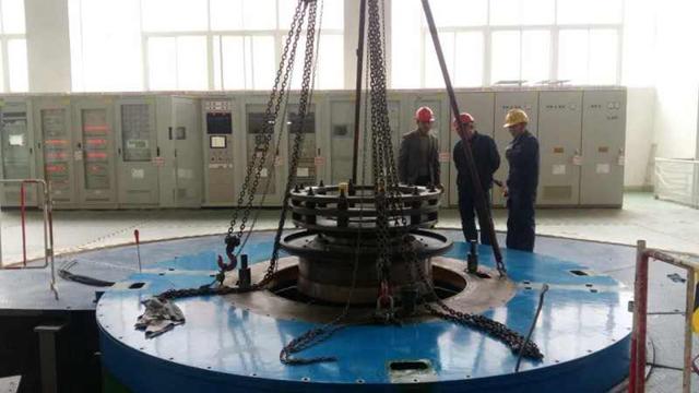 木里县沙湾水电站检修工程竣工运行
