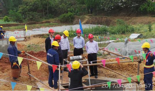 省检修公司领导检查500千伏山桃一二三四线电力线路迁改工程(3标)施工工作