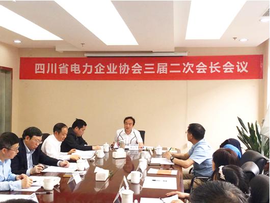 总经理陈云出席川电工程协会三届二次会长工作会议