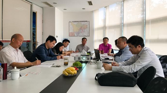 中国民族证券有限责任公司乐山区域分公司领导到集团公司交流座谈