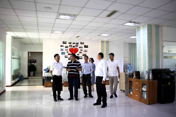 中铁四局领导莅临成蜀电力集团指导交流