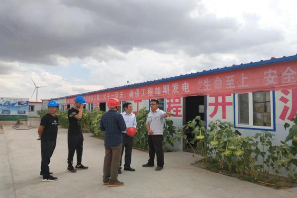 成蜀电力集团神华国能巴音杭盖200MW风电项目获业主单位赞誉