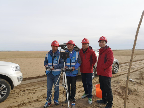 中机航飞圆满完成内蒙古电网2018年输电线路铁塔精细化巡检作业