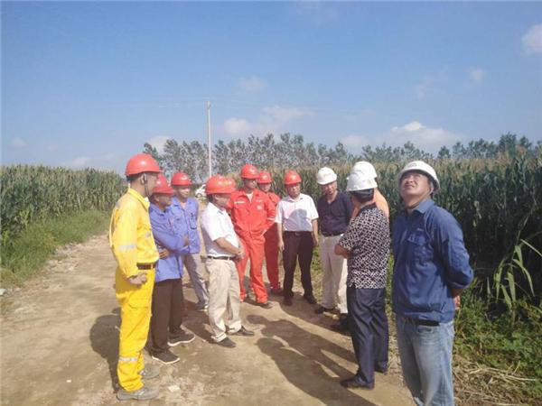 华润高级副总裁及江苏大区领导莅临盐城项目指导工作