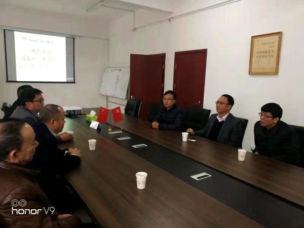 陈云总经理前往山东胶州、河南安阳、内黄等工程检查指导工作