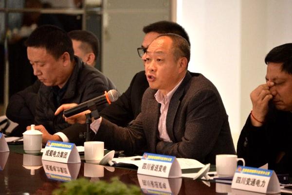 陈云总经理参加四川能源监管办组织的四川电力民营企业代表座谈会