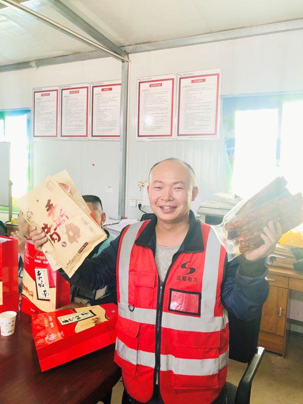情满工地暖人心——集团工会慰问河南中部大区各项目部一线员工