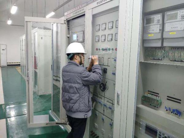 华润新能源胶州风电场工程一期220kV升压站土建、电气设备安装工程倒送电成功