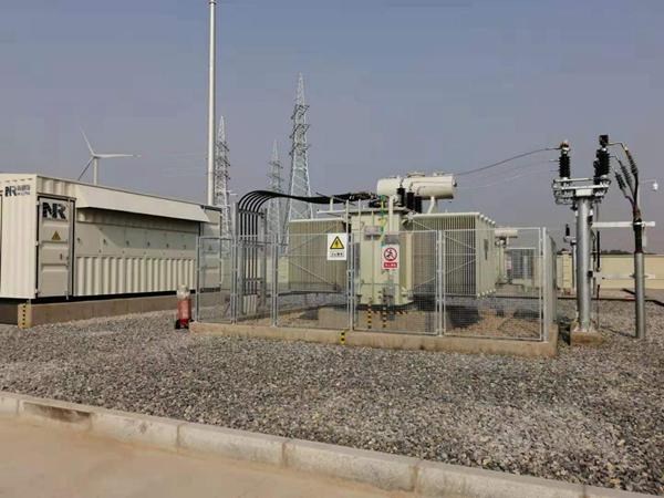华润新能源河南安阳永和250MW风电项目220kV升压站建安工程顺利受电、并网成功