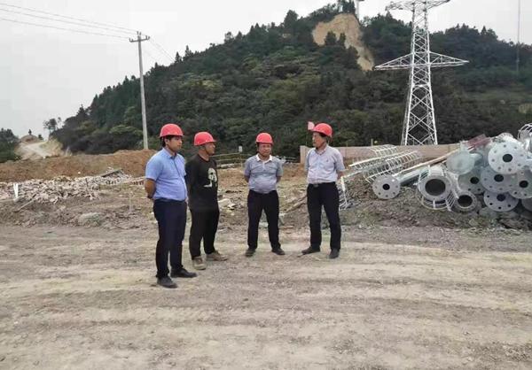 集团公司领导赴凯里万潮风电项目指导工作
