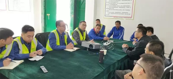 华润唐河龙潭项目二期集电线路开工大吉!