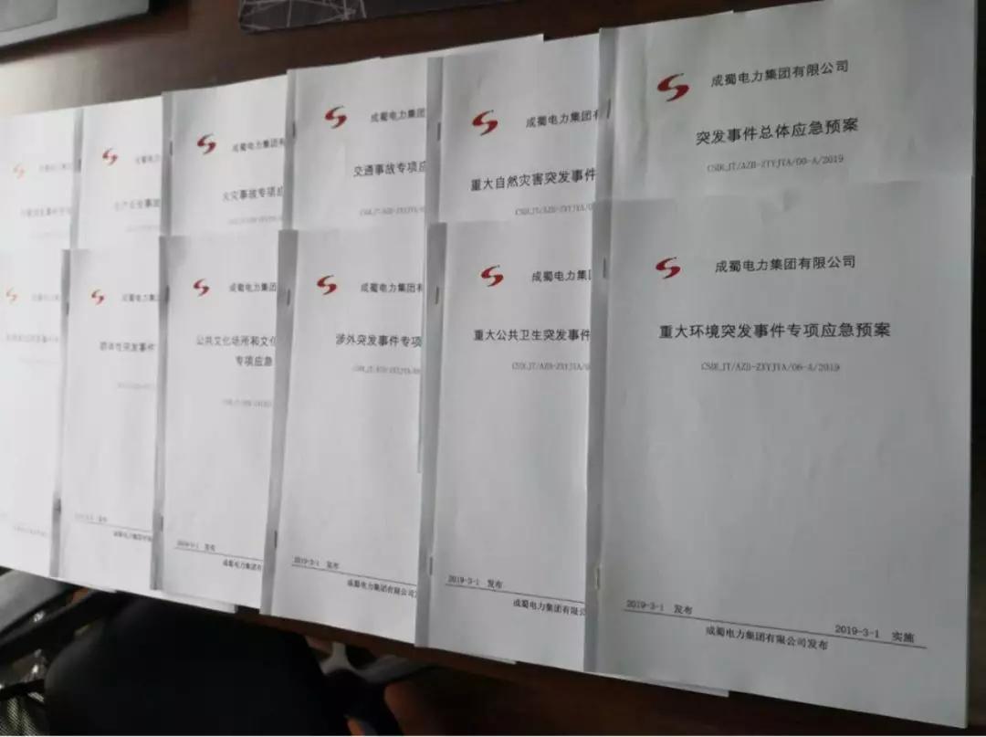 来自成蜀电力集团的2019答卷