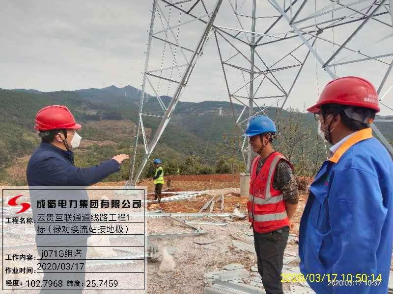 科学防控 安全有序 ——成蜀电力集团多个项目稳步推进复工复产
