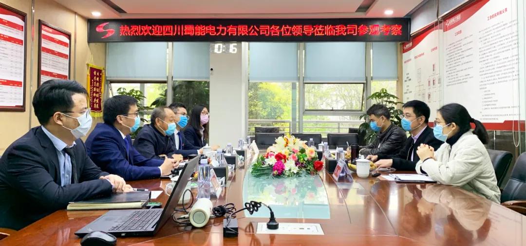 四川蜀能电力有限公司与成蜀电力集团开展党建工作研讨会