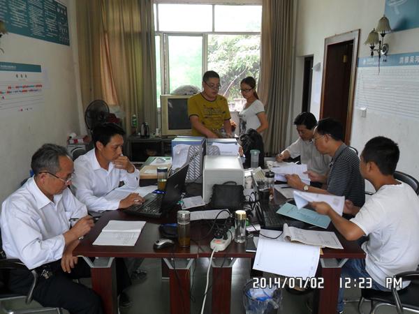 公司组织对吴三线、石眉线进行安全质量大检查