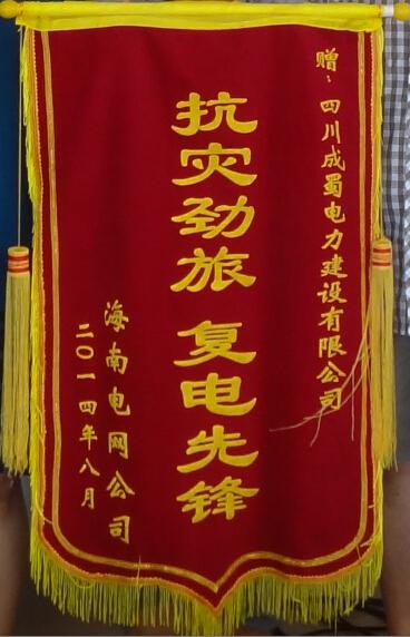 公司参加海南文昌抗风救灾抢修复电