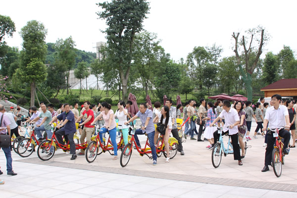 总公司与自贡分公司组织联谊活动,共度中秋佳节