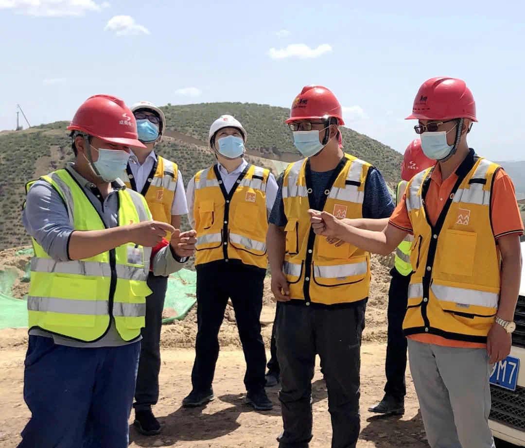 吴起长城二期风电主体项目通过中西大区EHS部检查