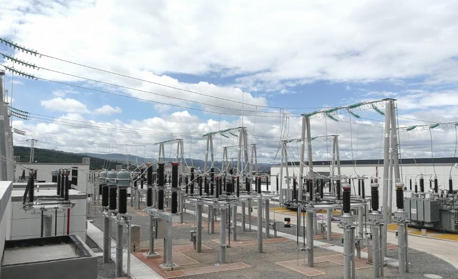 成蜀电力集团承建的110KV哨坡输变电工程竣工投产