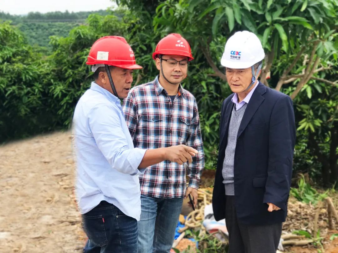 成蜀电力集团副总工程师姜烈巍赴广西项目检查工作
