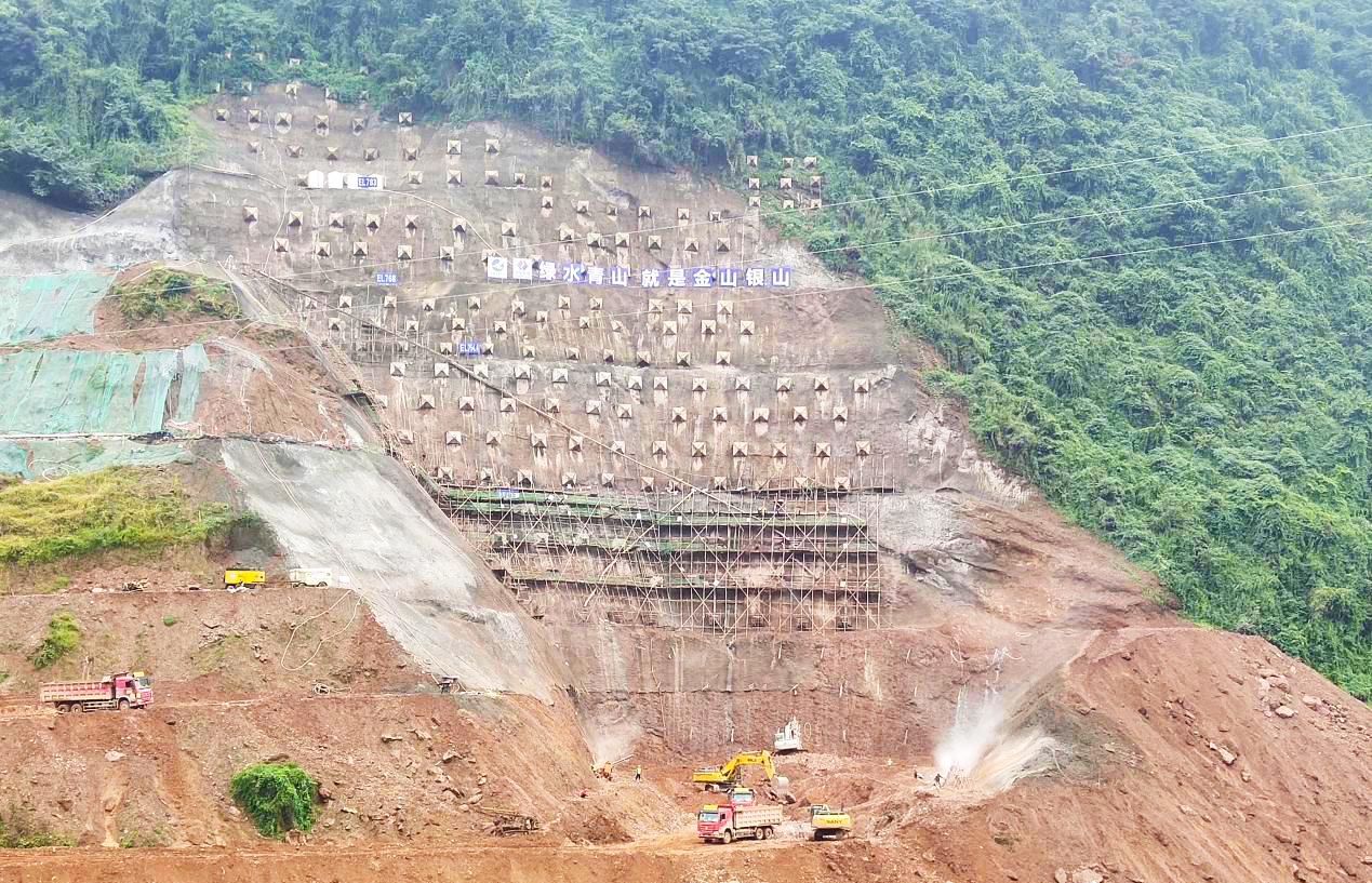 集团高级专家蒋家贵一行到李家岩水库项目开展督导检查