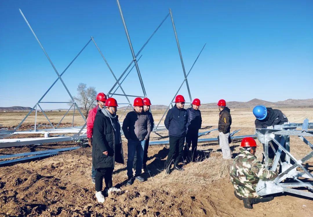 集团安质部经理岳庆、市场部经理李军一行赴多个项目检查指导工作