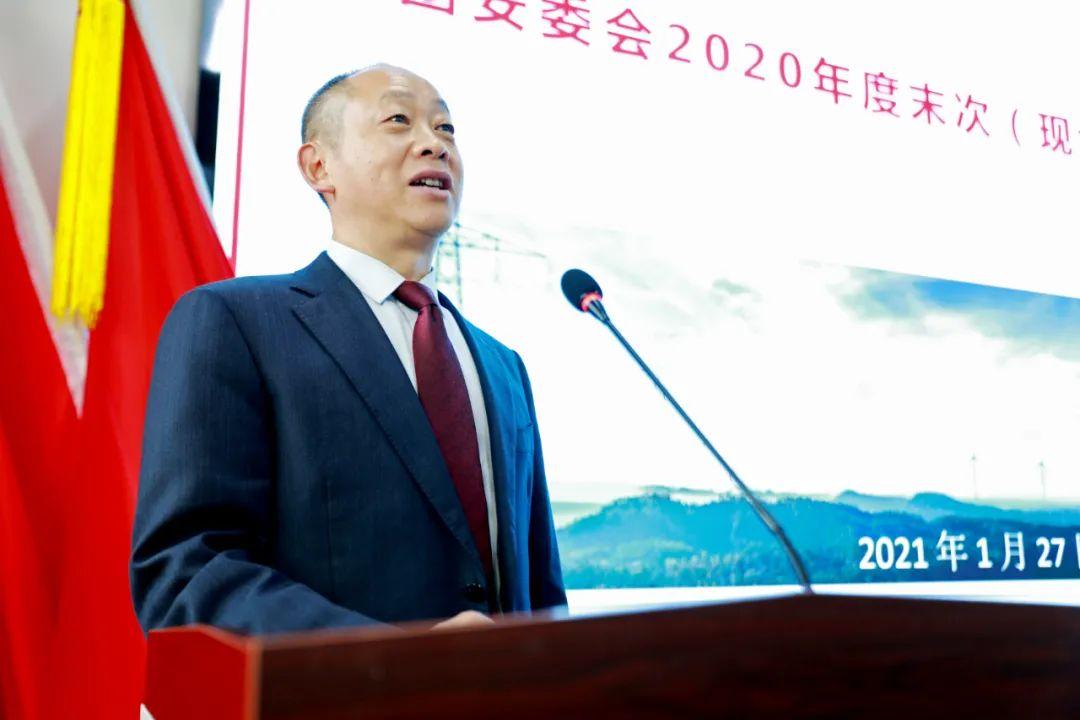 成蜀电力集团召开安委会2020年度末次会议