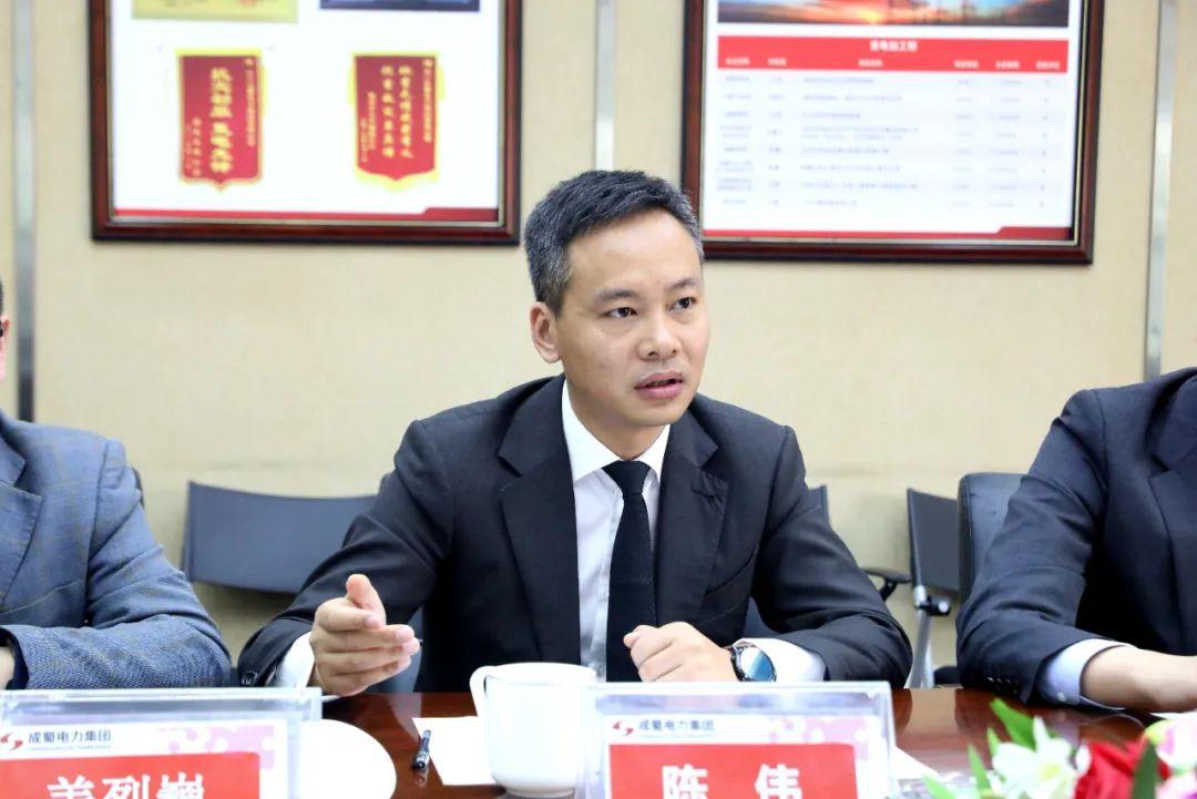 天府新区退役军人创新创业交互中心主任焦俊奎一行莅临成蜀电力集团考察调研