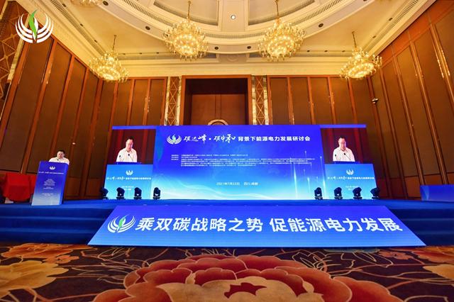 陈云出席碳达峰·碳中和背景下能源电力发展研讨会暨全国电力(工程)企业协会第十一届年会