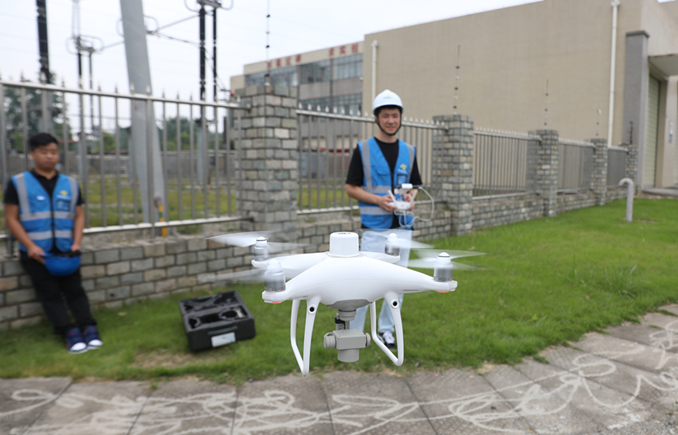 中机航飞举行西藏国网昌都供电公司110kV无人机自主精细化巡检项目开工仪式